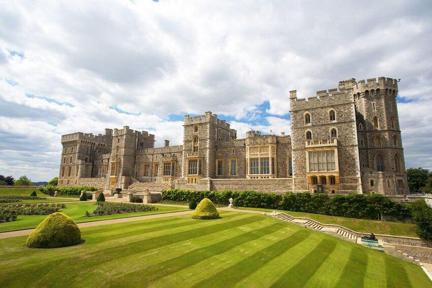 Windsor castle near London, United Kingdom.