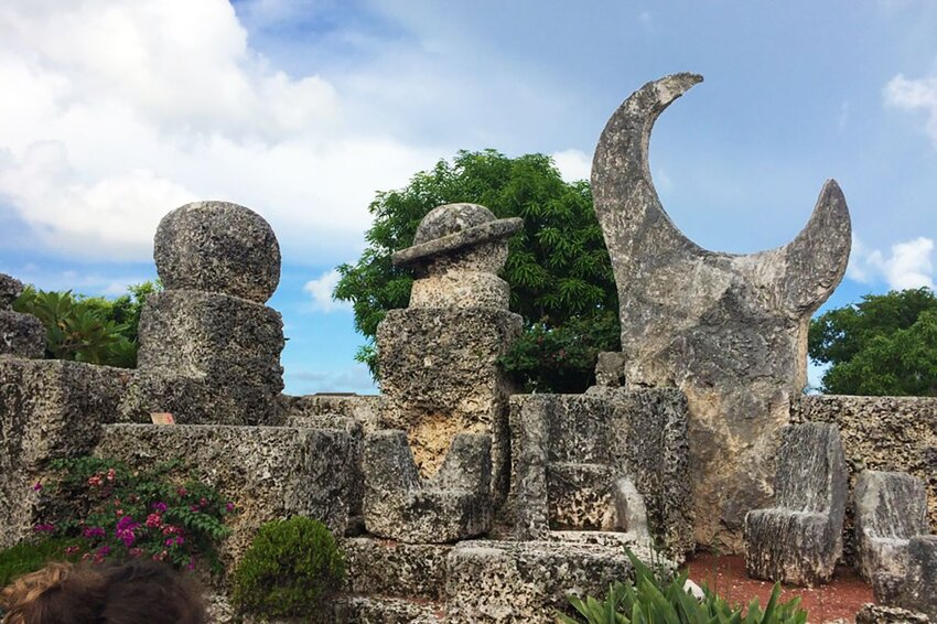 Coral Castle in Homestead Florida.